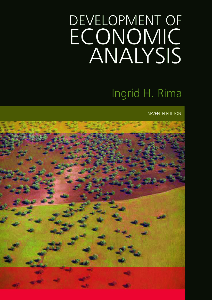 Development of Economic Analysis: 1st Edition (Paperback) book cover
