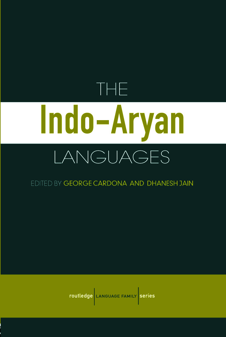 The Indo-Aryan Languages (Paperback) book cover
