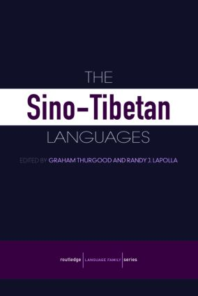 The Sino-Tibetan Languages (Paperback) book cover