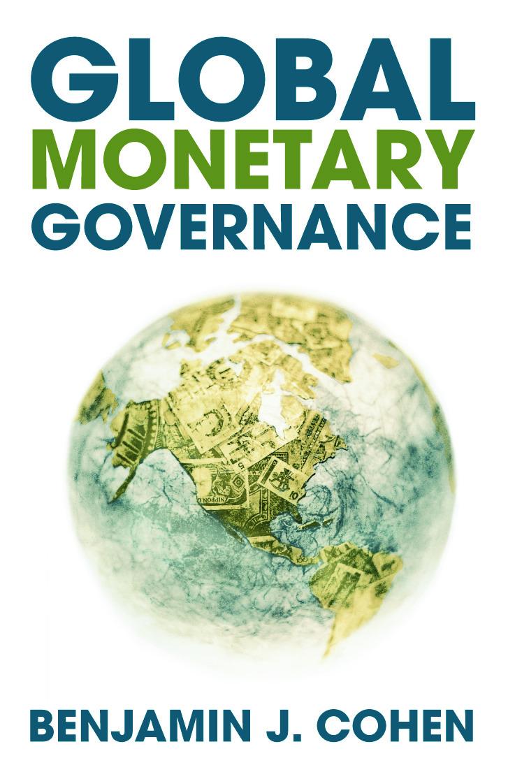 Global Monetary Governance (Paperback) book cover