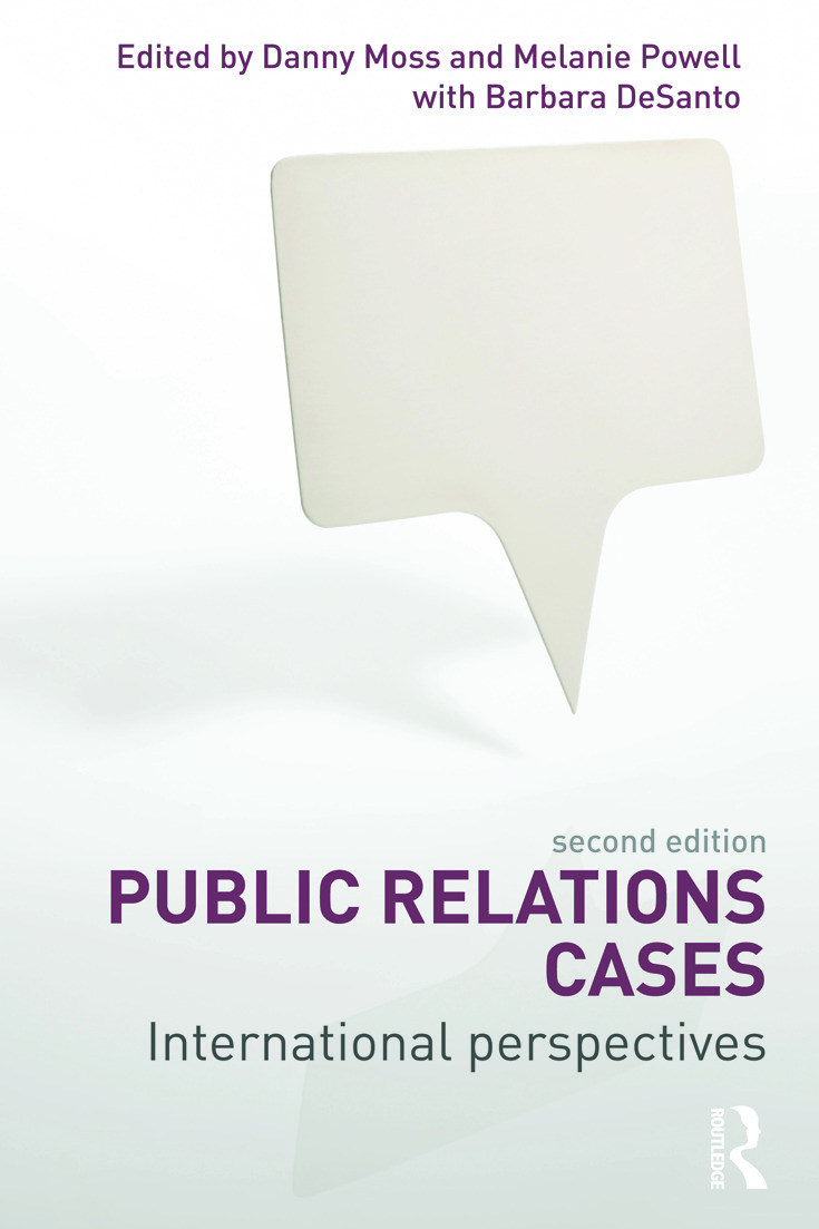 Public Relations Cases: International Perspectives, 2nd Edition (Paperback) book cover