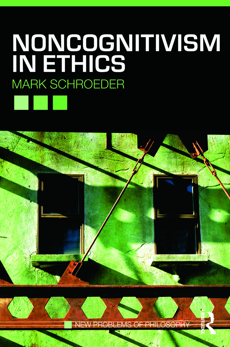 Noncognitivism in Ethics (Paperback) book cover