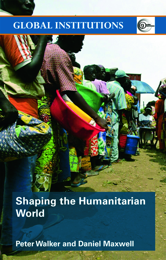 Shaping the Humanitarian World (Paperback) book cover