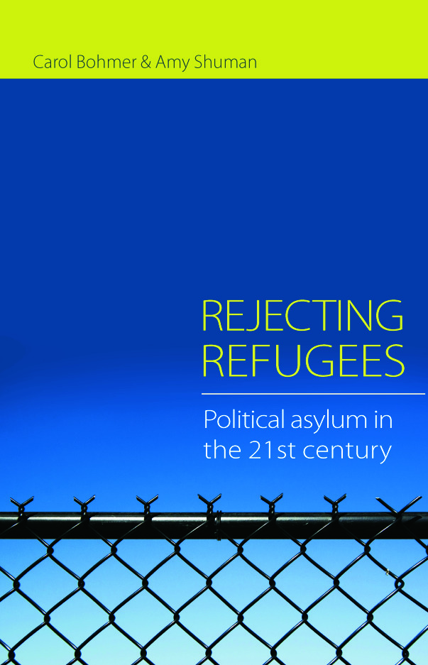 Rejecting Refugees: Political Asylum in the 21st Century (Paperback) book cover