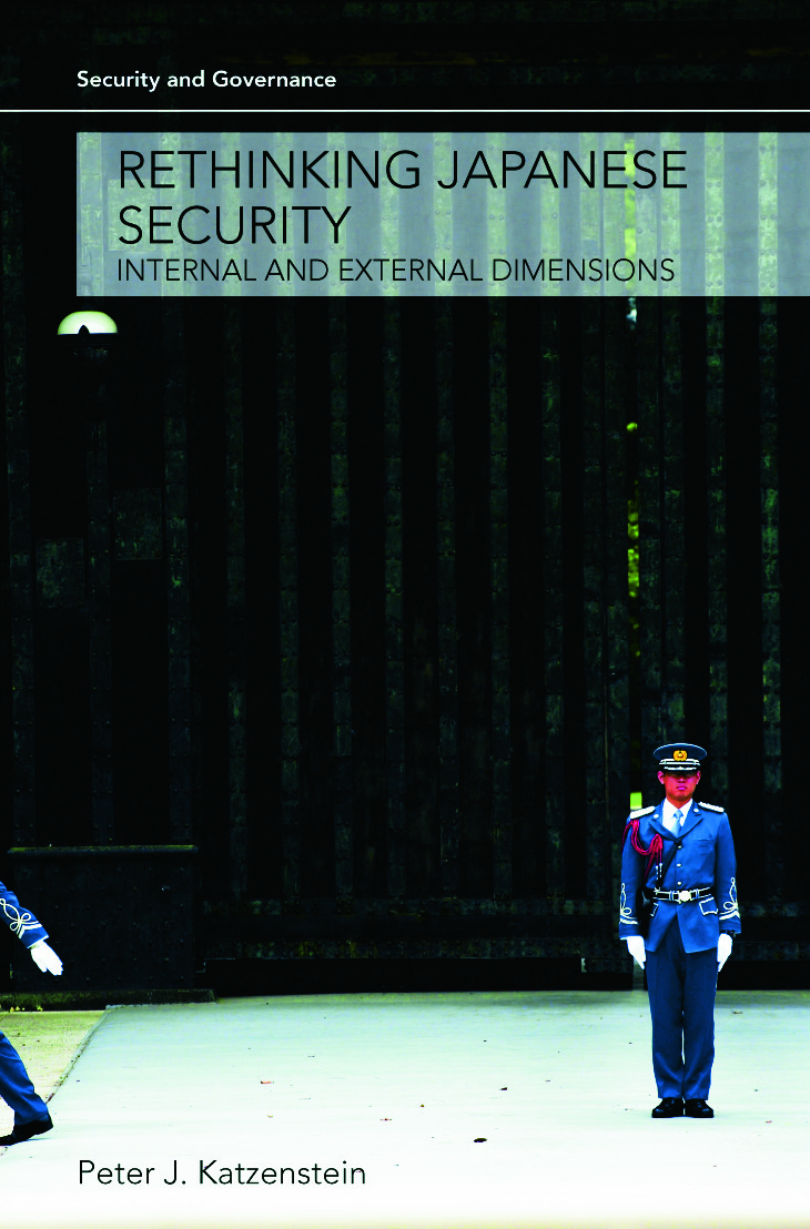 Rethinking Japanese Security: Internal and External Dimensions book cover