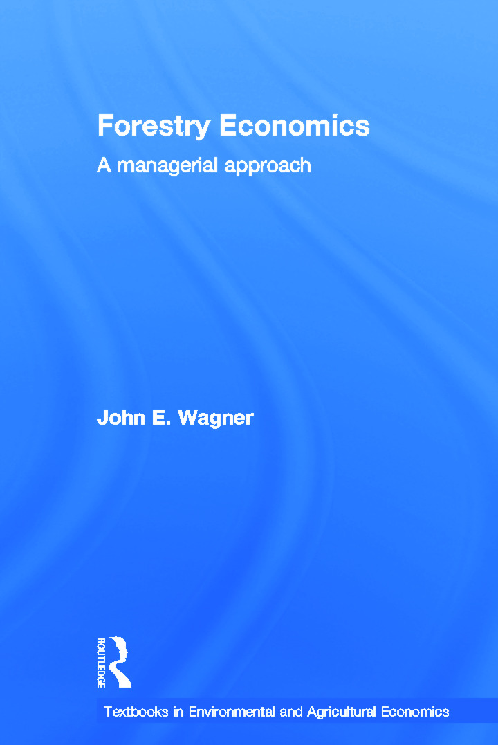 Forestry Economics: A Managerial Approach book cover