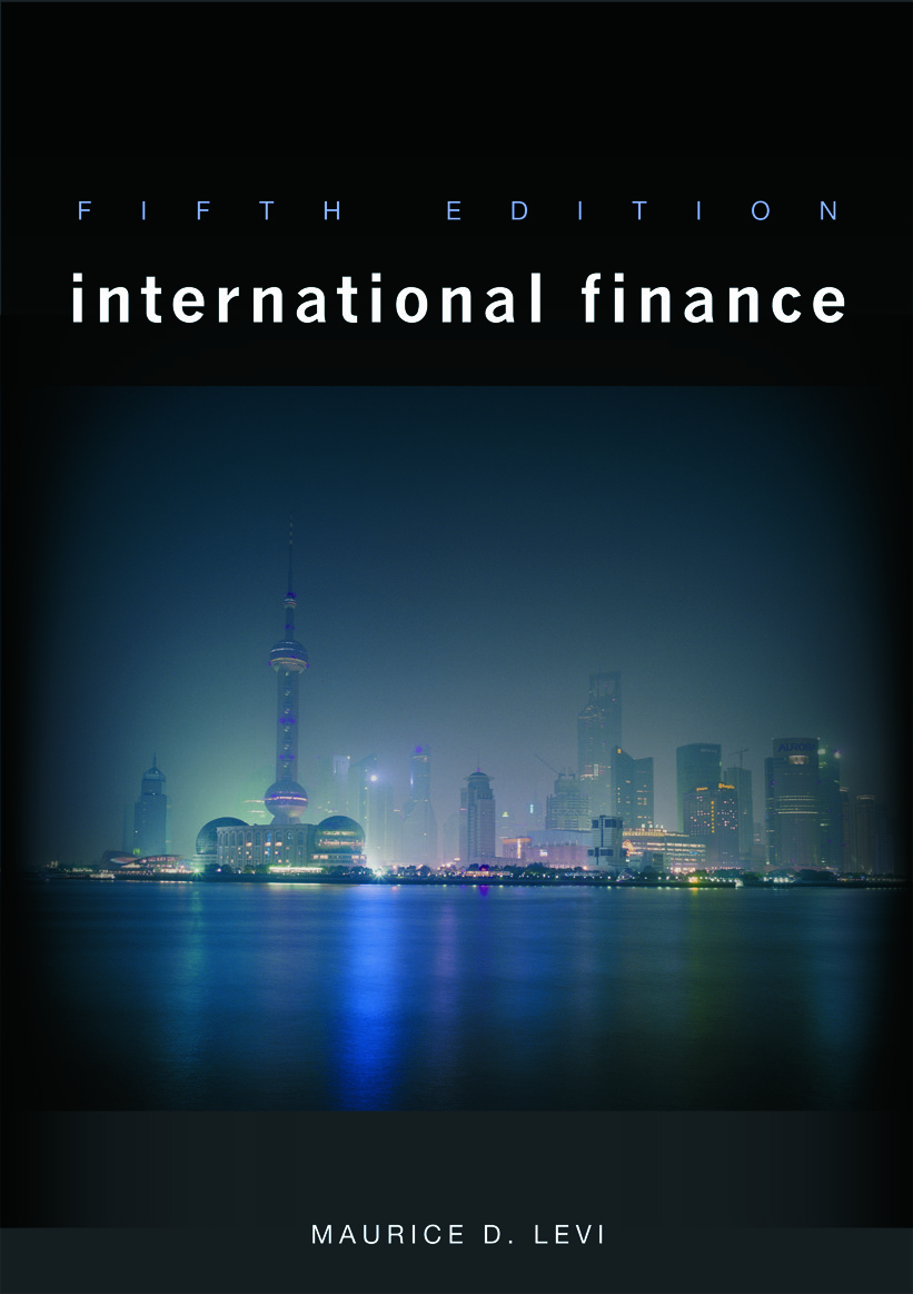 International Finance 5th Edition (Paperback) book cover