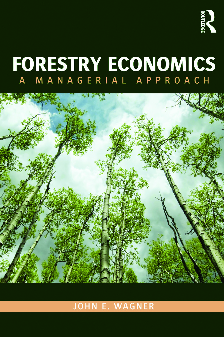 Forestry Economics: A Managerial Approach (Paperback) book cover