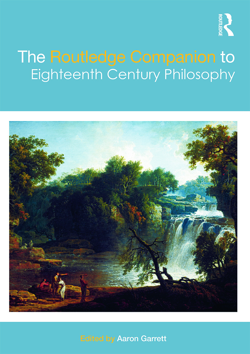 The Routledge Companion to Eighteenth Century Philosophy (Hardback) book cover
