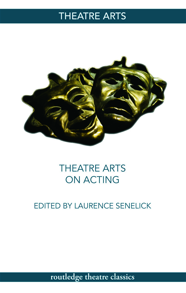 Theatre Arts on Acting: 1st Edition (Paperback) book cover