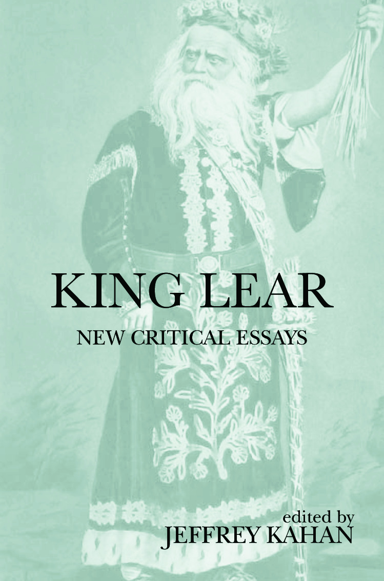 King Lear: New Critical Essays (Hardback) book cover