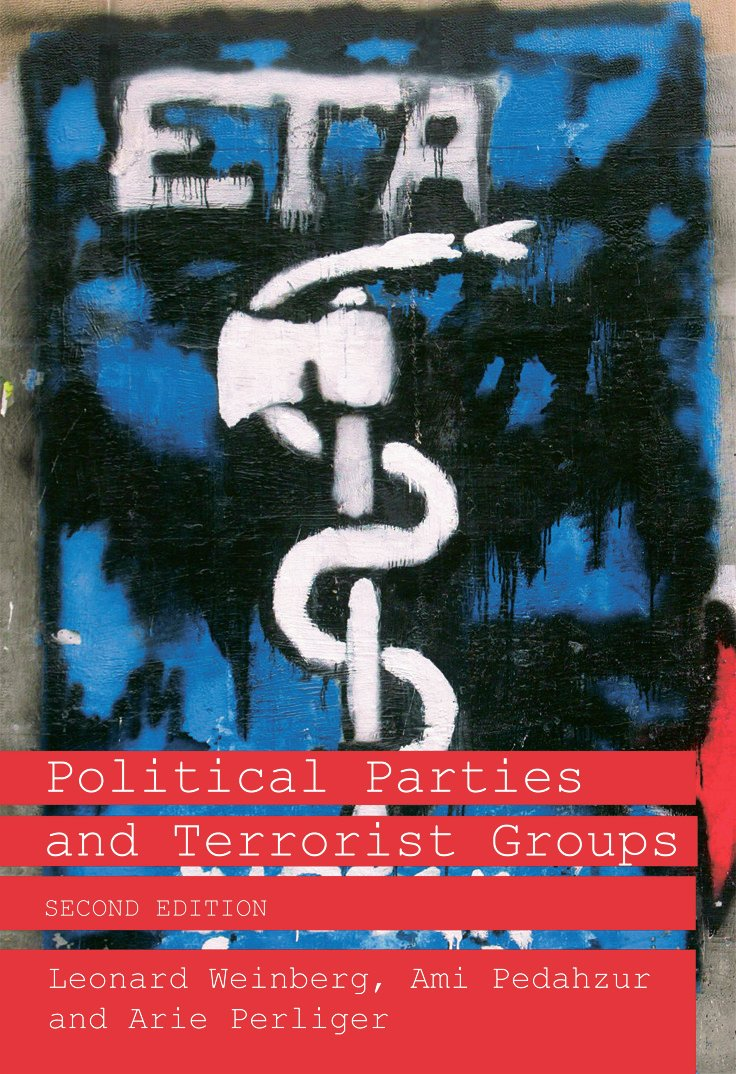 Political Parties and Terrorist Groups (Paperback) book cover