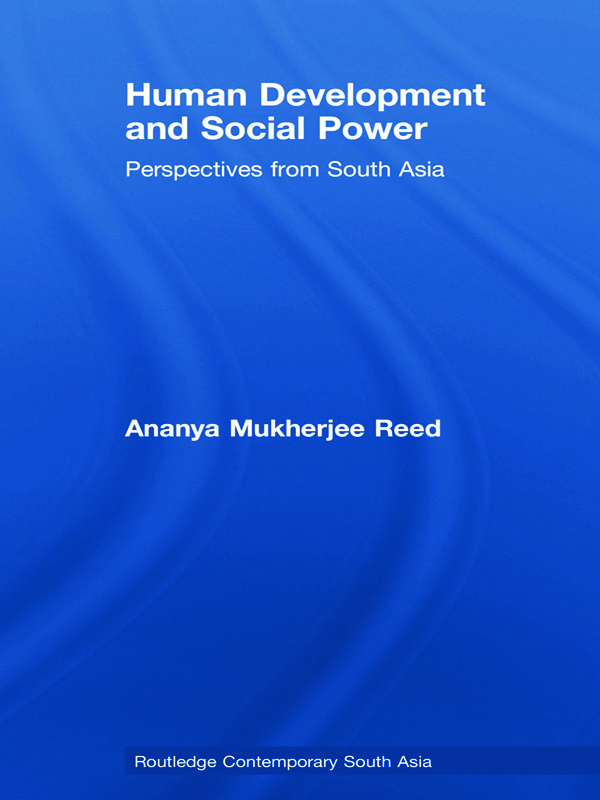 Human Development and Social Power: Perspectives from South Asia (Hardback) book cover