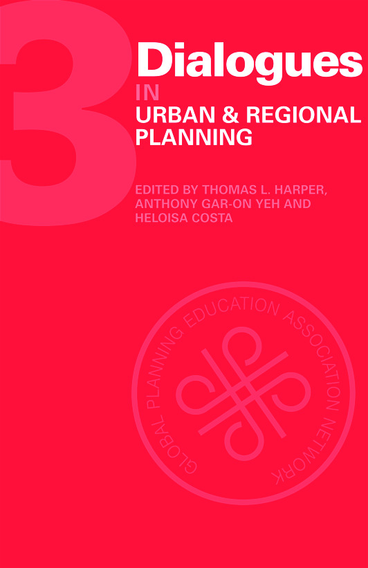 Dialogues in Urban and Regional Planning: Volume 3 (Hardback) book cover