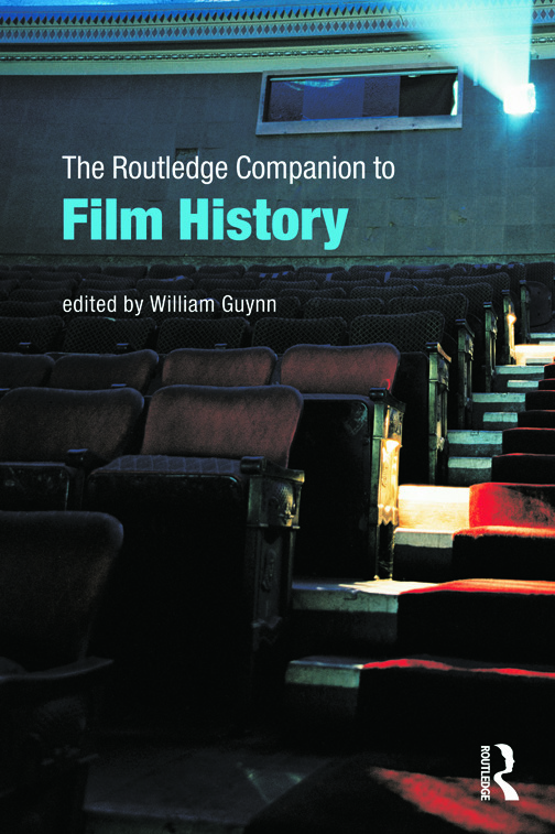 The Routledge Companion to Film History (Paperback) book cover