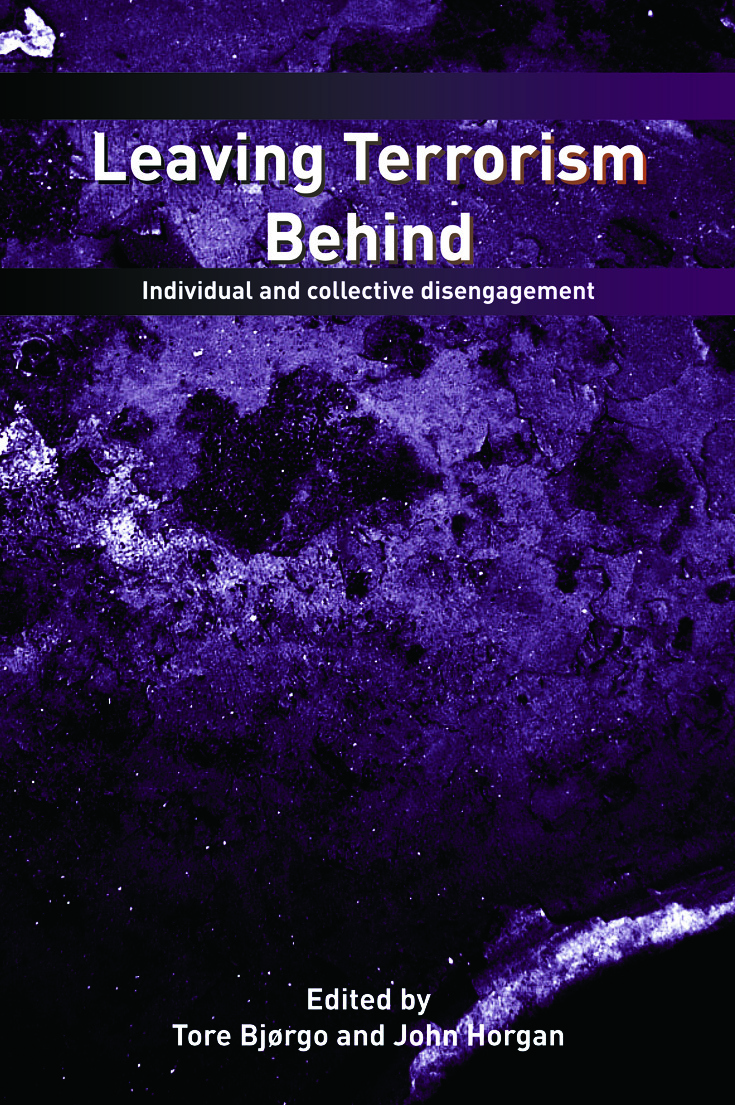 Leaving Terrorism Behind: Individual and Collective Disengagement book cover