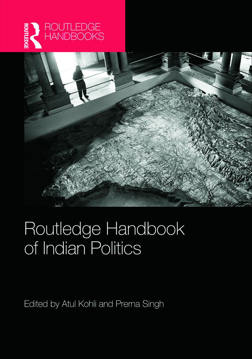 Routledge Handbook of Indian Politics (Hardback) book cover