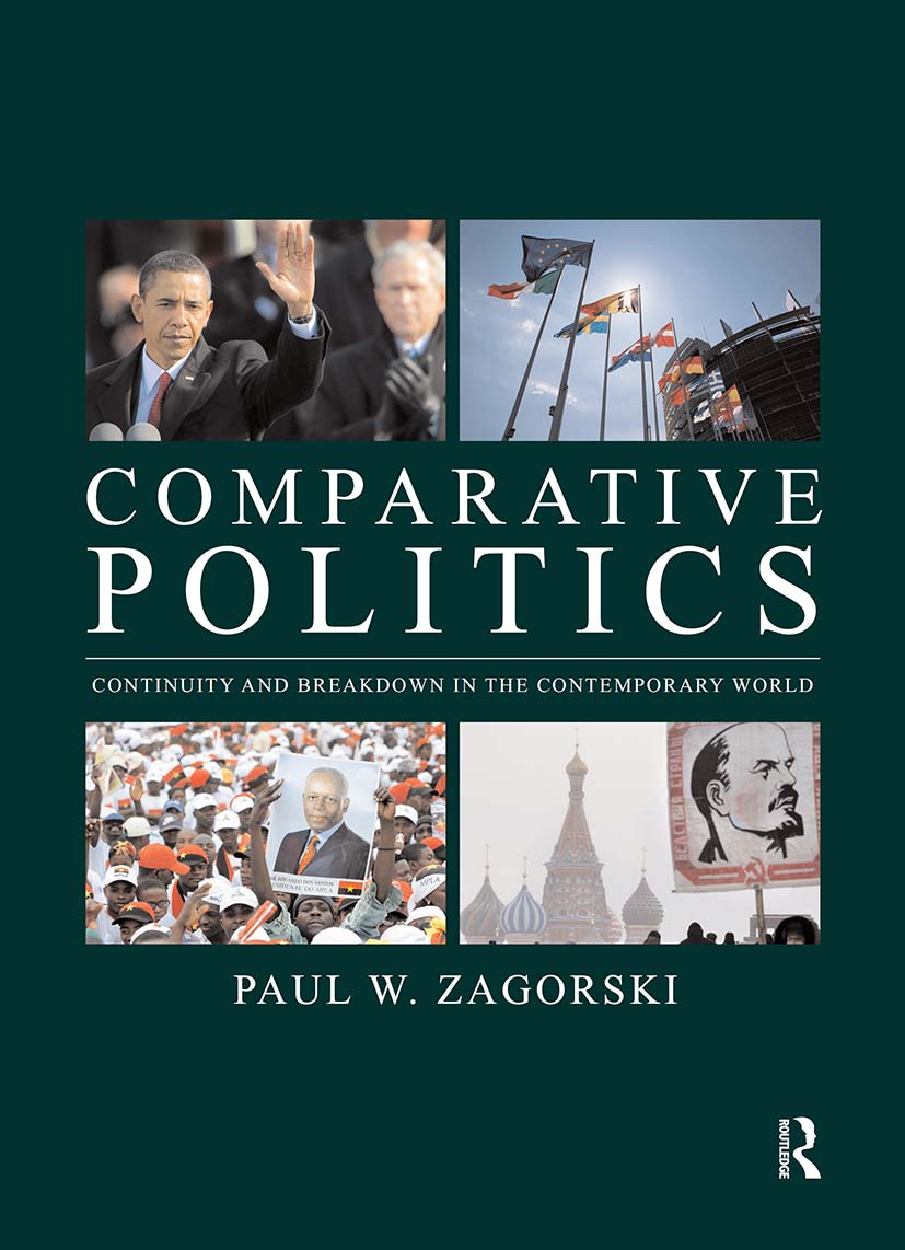 Comparative Politics: Continuity and Breakdown in the Contemporary World (Paperback) book cover