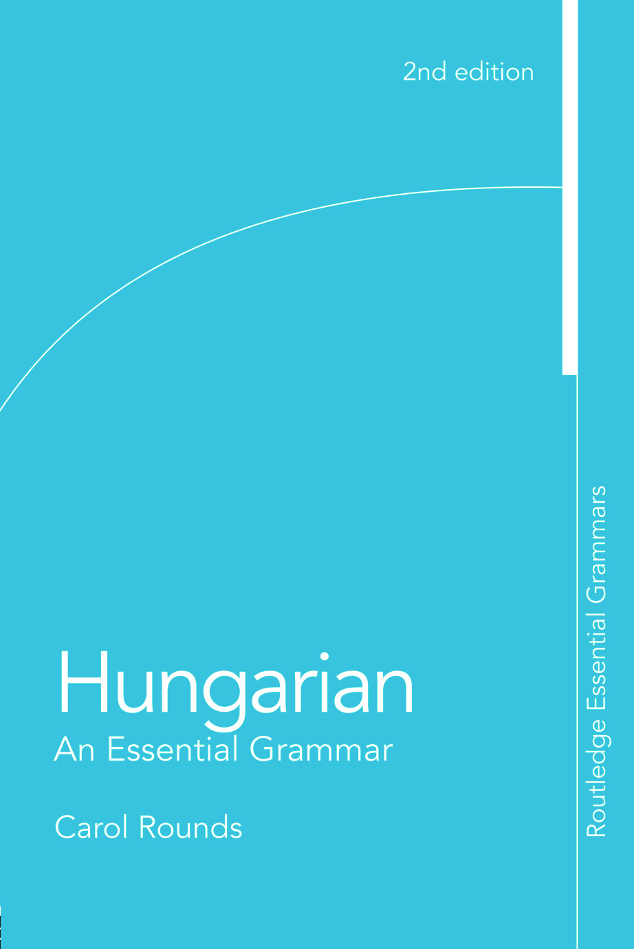 Hungarian: An Essential Grammar book cover