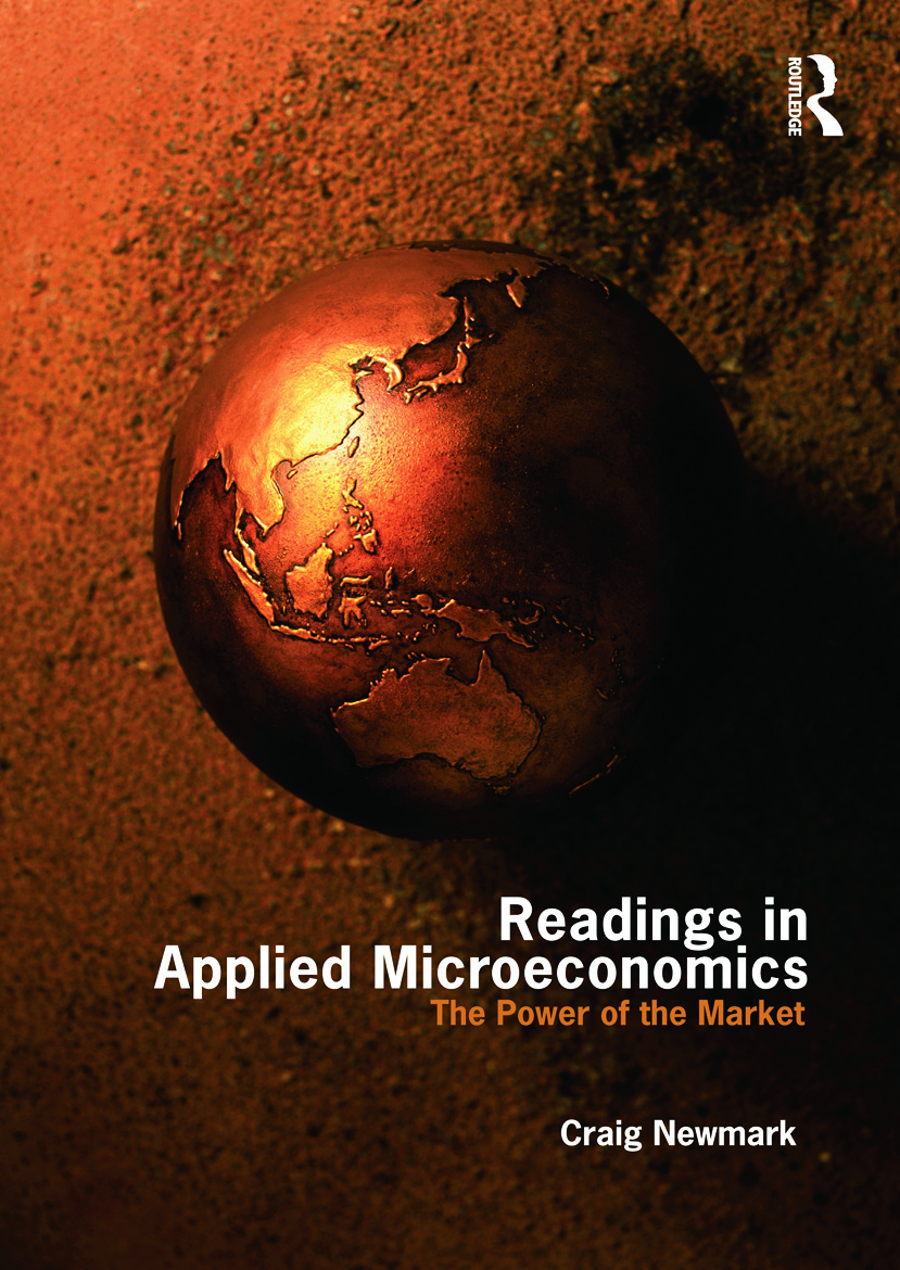 Readings in Applied Microeconomics: The Power of the Market, 1st Edition (Paperback) book cover