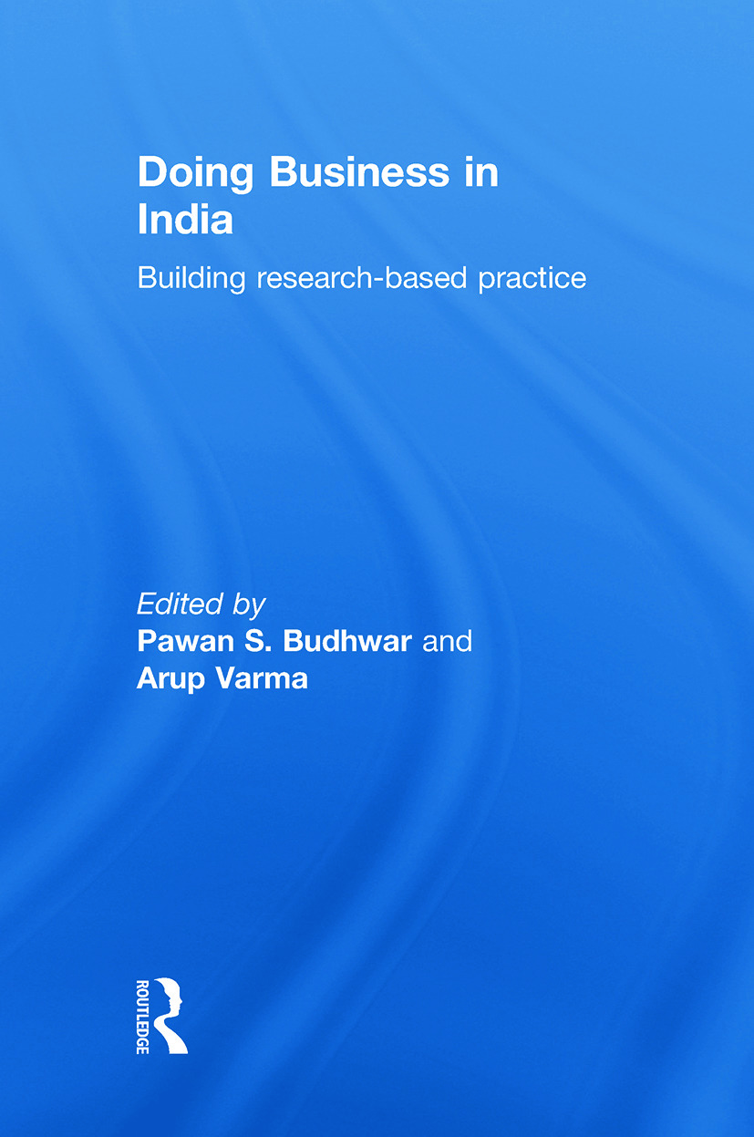 Doing Business in India: 1st Edition (Hardback) book cover