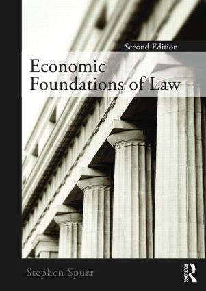 Economic Foundations of Law second edition (Paperback) book cover