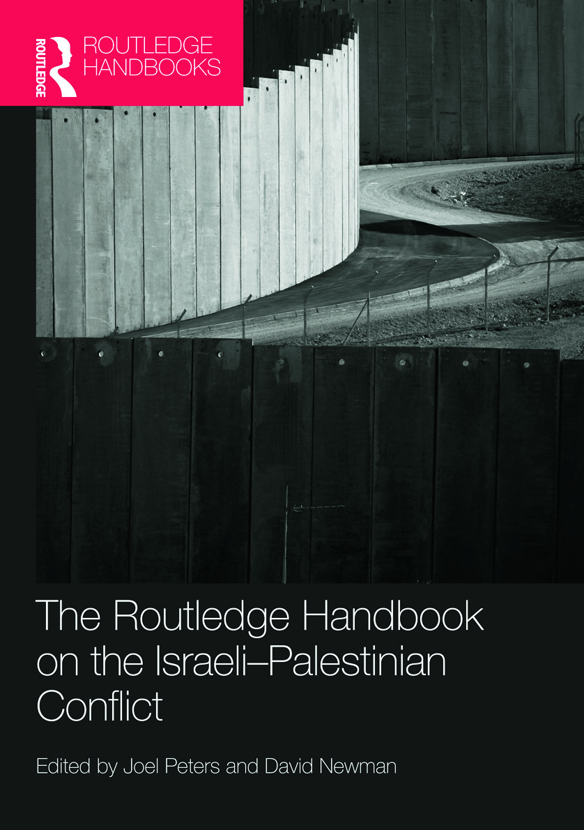 Routledge Handbook on the Israeli-Palestinian Conflict book cover