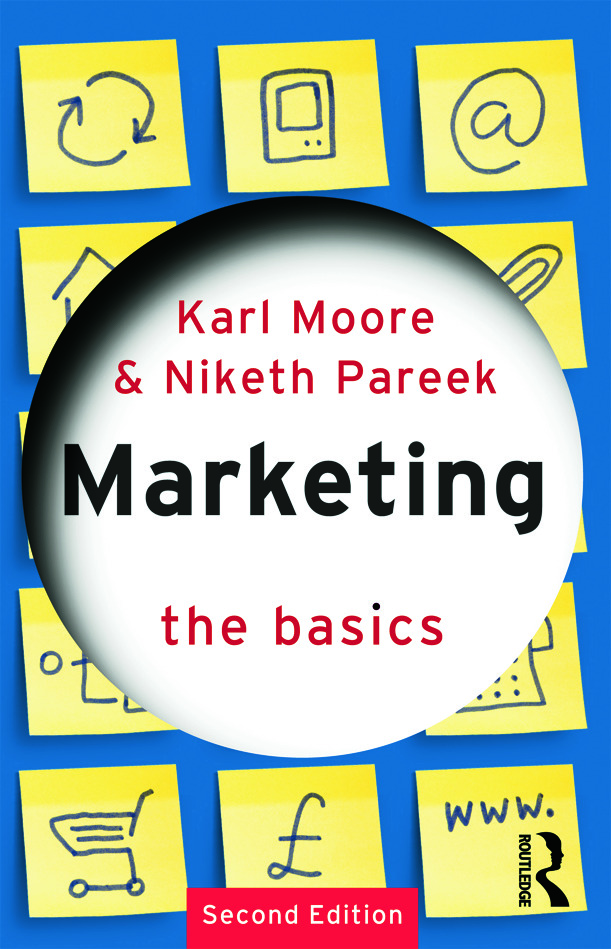 Marketing: The Basics: 2nd Edition (Paperback) book cover
