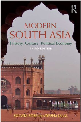 Modern South Asia: History, Culture, Political Economy, 3rd Edition (Paperback) book cover