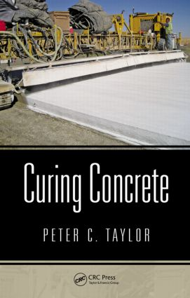 Curing Concrete (Hardback) book cover
