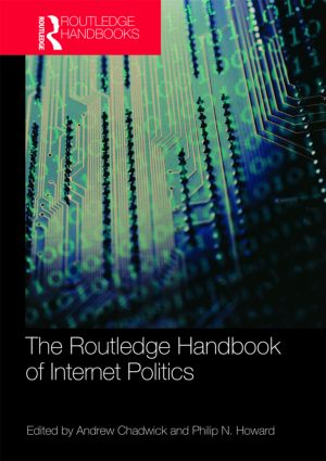 Routledge Handbook of Internet Politics book cover