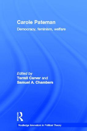 Carole Pateman: Democracy, Feminism, Welfare book cover