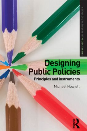 Designing Public Policies: Principles and Instruments (Paperback) book cover