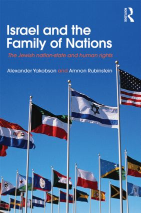 Israel and the Family of Nations: The Jewish Nation-State and Human Rights (Paperback) book cover