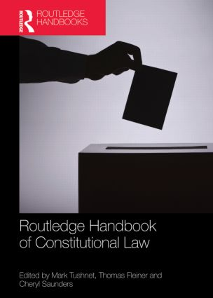 Routledge Handbook of Constitutional Law (Hardback) book cover