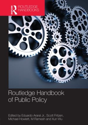 Routledge Handbook of Public Policy (Hardback) book cover