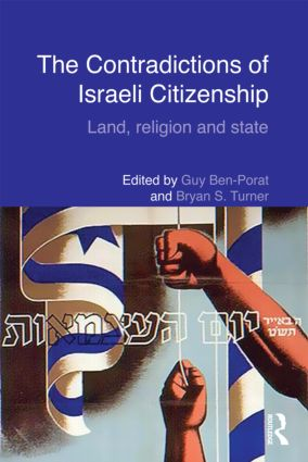 The Contradictions of Israeli Citizenship: Land, Religion and State (Hardback) book cover