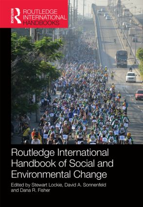 Routledge International Handbook of Social and Environmental Change: 1st Edition (Hardback) book cover