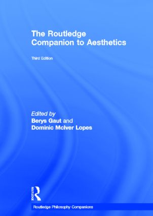 The Routledge Companion to Aesthetics book cover