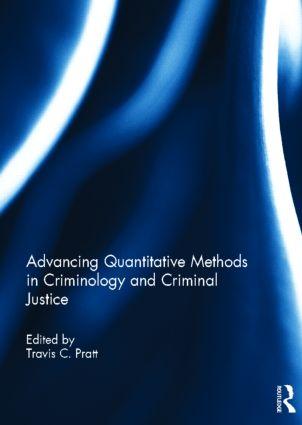 Advancing Quantitative Methods in Criminology and Criminal Justice (Hardback) book cover
