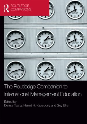 The Routledge Companion to International Management Education book cover