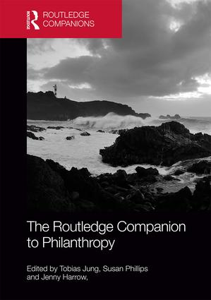 The Routledge Companion to Philanthropy: 1st Edition (Hardback) book cover