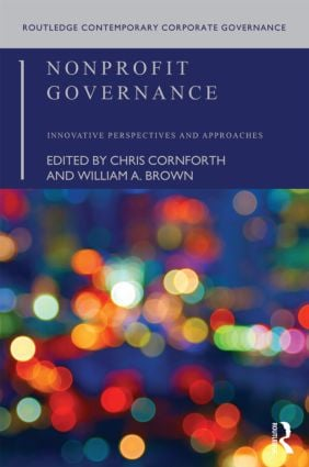 Nonprofit Governance: Innovative Perspectives and Approaches (Paperback) book cover