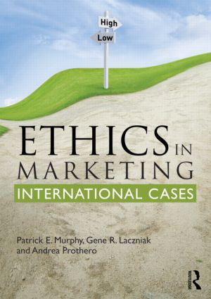 Ethics in Marketing: International cases and perspectives (Paperback) book cover