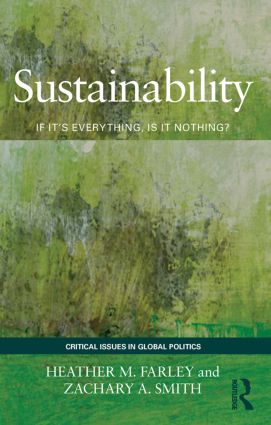 Sustainability: If It's Everything, Is It Nothing? (Paperback) book cover