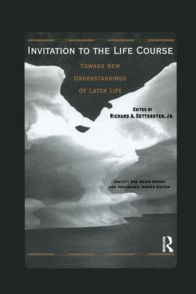 Invitation to the Life Course: Towards new understandings of later life, 1st Edition (Paperback) book cover