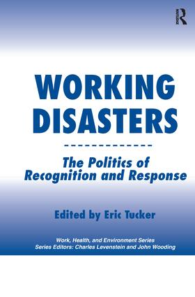 Working Disasters: The Politics of Recognition and Response, 1st Edition (Paperback) book cover
