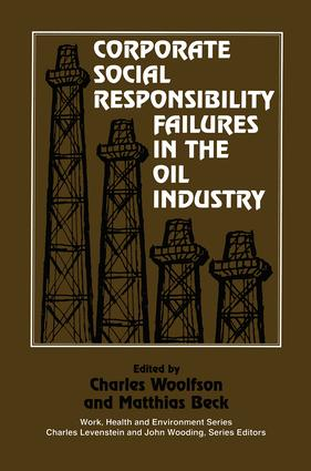 Corporate Social Responsibility Failures in the Oil Industry book cover