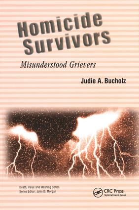 Homicide Survivors: Misunderstood Grievers book cover