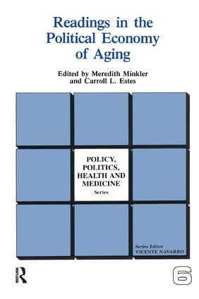Readings in the Political Economy of Aging book cover